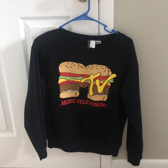 a92a42f39d6 H&M MTV sweatshirt